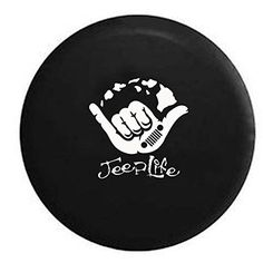 Jeep Hang Loose Jeep Life Tire Cover