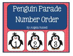 This is a fun pocket chart math exercise. Copy and cut out the 33 penguin cards.Math Ideas:Have the children place the penguins in order by number.Place a blank penguin in between two numbers and the children place it with the missing number.Have the children count on from a given number.Place a numbered penguin between two blank penguins and have the children place the number that comes before and after.