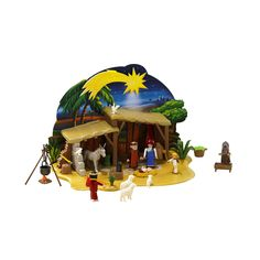 "Playmobil Nativity Manger With Stable - Playmobil - Toys ""R"" Us"