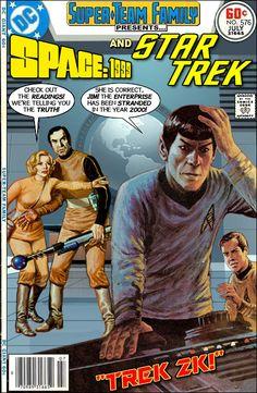 Super-Team Family: Space 1999 and Star Trek