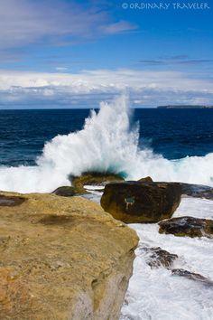 Bondi Beach, Australia (looks like Ariel's rock)♡ Coast Australia, Australia Travel, Dream Vacations, Vacation Spots, Sydney Beaches, Holiday Places, Bondi Beach, My Escape, Beach Photos