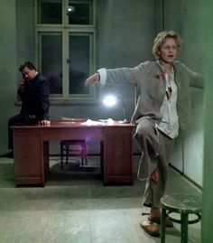 """""""Interrogation"""" (Polish: Przesłuchanie) directed by Ryszard Bugajski in 1982, but because of its strongly anti-communist themes, banned by the Polish government (then pro-Soviet) for seven years until 1989 disintegration of the Eastern Bloc."""