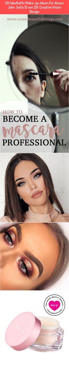 29 fabelhafte Make-up-Ideen für dieses Jahr: Seite 15 von 29: Creative Vision Design Best Makeup Primer, Best Makeup Products, Eyes, Creative, Beauty, Design, Beauty Illustration, Cat Eyes