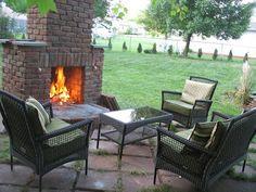 DIY How to Build an Outdoor Fireplace