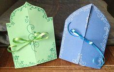 Ramadan or Eid greeting cards Eid Crafts, Diy Crafts For Gifts, Holiday Crafts, Crafts For Kids, Paper Crafts, Eid Greeting Cards, Ramadan Cards, Ramadan Activities, Eid Greetings