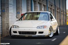 Slammed & Fitted Stanced Honda Civic EG Hatchback (17)