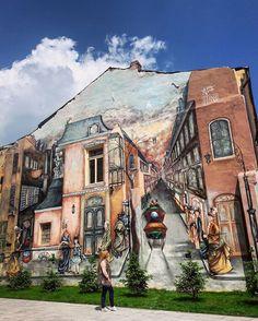 #streetart❤️ #artpicture #walkonthestreet #craiova #romania #travelling #adorethispic Moldova, Art Pictures, Travelling, Cool Stuff, Instagram Posts, Painting, Romania, Bulgaria, Hungary