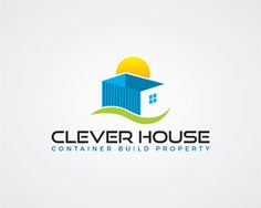 Clever house Logo design - Innovation in construction - Clever House, Container Build Property Solutions. Price $350.00