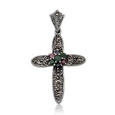 Joyeria Plata y Azabache Artesania Galicia Home Page Silver and Black Jet Crafts Jewelry Crafts Tax Free, Emeralds, Marcasite, Jewelry Crafts, Sterling Silver, Retro, Collection, Black, Silver Jewellery