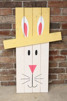 This is a great idea for a Reversible decoration! Leprechaun on one side and Easter Bunny on the other...I'm doing it!!