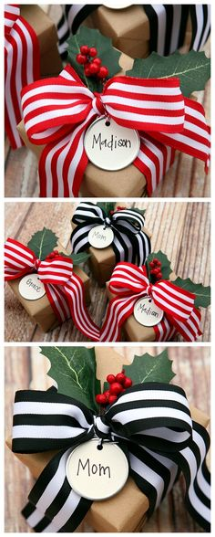Unique Christmas Gifts, Noel Christmas, Christmas Gift Wrapping, Xmas Gifts, Holiday Crafts, Diy Gifts, Handmade Gifts, Beautiful Christmas, Christmas Presents