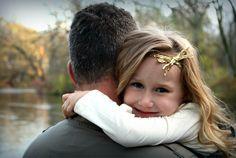 Hug for dad