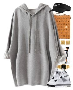 """Untitled #1524"" by power-beauty ❤ liked on Polyvore featuring Majolie Collections, Casio, MCM and NIKE"