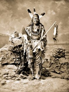 Arikara Chief Son Of The Star 1880