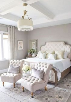 In this article, we are giving you some wonderful master bedroom decor ideas that you will definitely find useful. So take a fast look at these eight Master Bedroom Decor Fresh Master Bedroom Elegant and Modern Master Bedroom Design Ideas 2018 Small Master Bedroom, Master Bedroom Design, Dream Bedroom, Master Bedrooms, Bedroom Designs, Master Suite, White Bedrooms, Master Bedroom Chairs, Master Bedroom Color Ideas