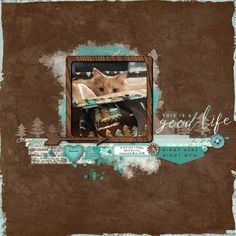 Good Life Affinity Photo, Cat Sketch, Brown Paper, Wood Veneer, Scrapbook Pages, Digital Scrapbooking, Overlays, Cute Cats, Life Is Good