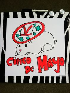 Caption this funny Cinco de Mayo mouse!