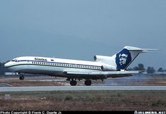 Boeing 727, Alaska Airlines, Aircraft, Planes, Aviation, Airplane, Airplanes, Plane