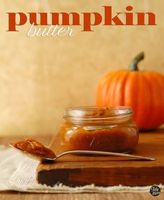 Homemade pumpkin butter