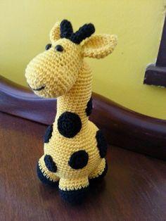 Teia de Carinhos: Gigi, a girafa