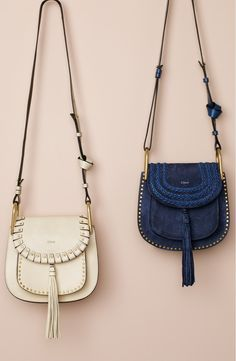 Lusting after these chic Chloé bags with a 70's-inspired flair.