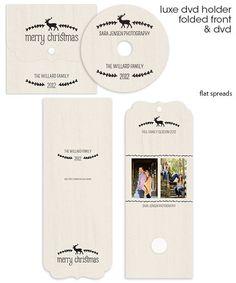 Willard Luxe DVD Case and DVD Label