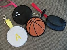 Hockey Bag Tag - 4x4 | What's New | Machine Embroidery Designs | SWAKembroidery.com East Coast Applique