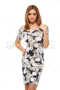 Catchy Loveliness Black Dress