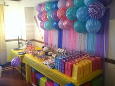 Lego and friends birthday party