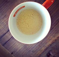 Sådan ser den ud, min skudsikre kaffe.