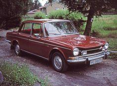 Simca bil fra 1970-tallet.
