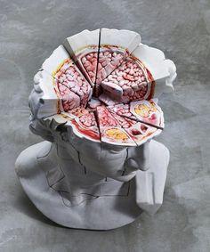 Cao Hui #art #sculpture #anatomy