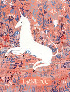 unicorn print   ybryksenkova