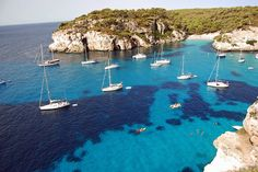 Menorca - Macarelleta by cpcmollet, via Flickr Pictures Of Beautiful Places, Beautiful Places To Visit, Oh The Places You'll Go, Places Around The World, Places To Travel, Travel Destinations, Around The Worlds, Balearic Islands, Adventure Awaits