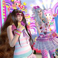 Kawaii War and Japanese Pop Art « Virtual Neko in Second Life
