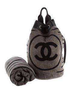 Chanel Sport Beach Bag & Towel