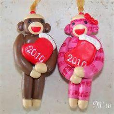 Elf Jingle Bell Buddy Polymer Clay Christmas Ornament - Free ...