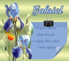meninové priania Gabriel, Archangel Gabriel