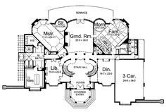 extravagant house plans - Google Search