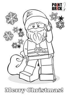disegni da colorare lego babbo natale santa claus clicca sullimmagine per