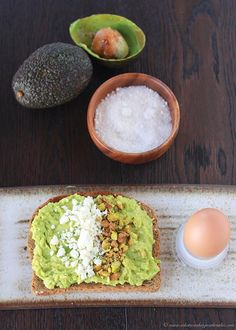 Feta and Pistachio Avocado Toast on www.cookingwithruthie.com if you love avocado then this breakfast will be your new favorite way to start the day!