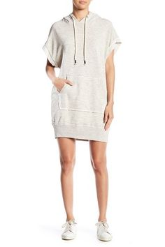 11f00ac0b85b Short Sleeve Hoodie Dress by Splendid on  nordstrom rack Short Sleeve  Hoodie