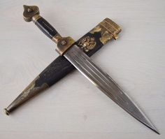 Antique Royal Imperial Russian Caucasian Handcrafted Cossack Military Dagger #Unbranded