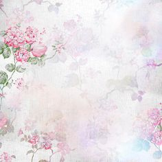 "Photo from album ""Romantic Heart / Романтическое сердце"" on Yandex. Printable Scrapbook Paper, Baby Scrapbook, Pretty Backgrounds, Flower Backgrounds, Vintage Notebook, Floral Texture, Butterfly Frame, Shabby, Writing Paper"