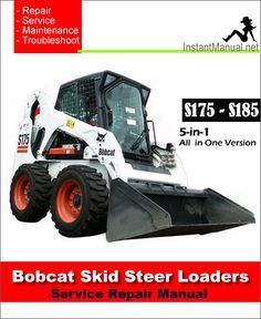 57 best bobcat skid steer loader service manual pdf images on rh pinterest com