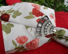 Guardanapo de tecido Rosas