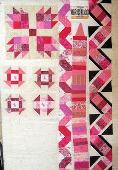 Scrapbox Quilts: RSC16 Scrapbusters - In the Pink