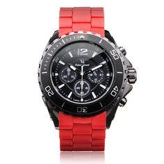 Men's Watch - V6 V0202 Super Speed Sport Big 3 Dial Men Quartz Wrist Watch #Sport