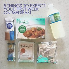 5 Things to Expect Your First Week on Medifast | Our Holly Days