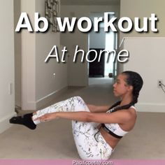 10 minute workout plan for abs that can be done at home consisting of simply, effective core exercises for women. Achieve six pack abs with this healthy Ab routine to lose belly fat and lo Flat Tummy Workout, Abs Workout Video, Six Pack Abs Workout, Abs Workout Routines, 10 Minute Workout, Ab Workout At Home, Abs Workout For Women, Belly Fat Workout, At Home Workouts